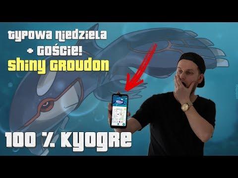Kyogre 100 IV!  Typowa Niedziela W Pokemon Go + Goście!! Odcinek #227 thumbnail