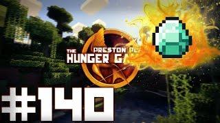 Minecraft Hunger Games: DEATH BY DIAMONDS?! - w/Preston & Friends! #140