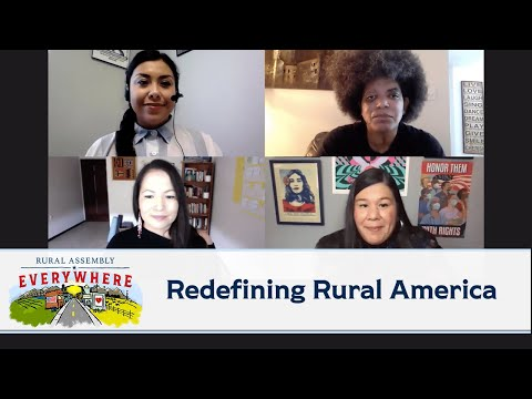 Redefining Rural America, a panel conversation moderated by Justice for Migrant Women