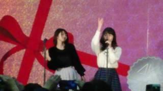 2017年2月4日のAKB48大握手会で行われた☆ステージイベント☆ さっほー&...
