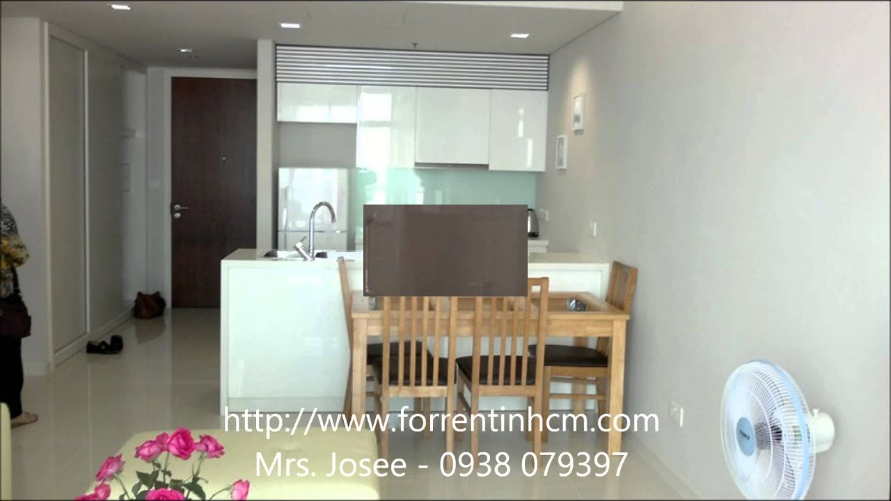 Fully furnished 1 bedroom apartment for rent in City Garden HCMC