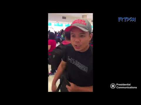DFA Interviews with Filipino evacuees