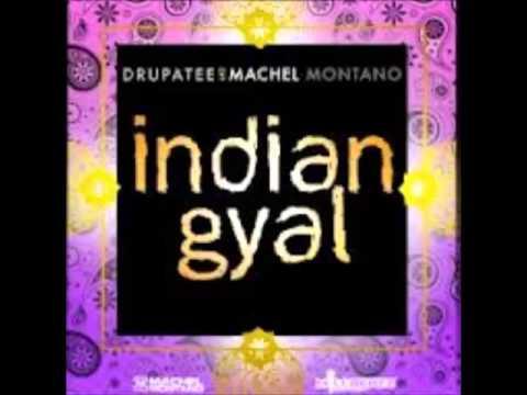 Machel Montano and Drupatee - Indian Gyal (Lyrics In The Description)