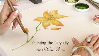 Painting the Day Lily