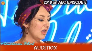 Caitlin Lucia sings a BETTER version of Katy Song I Kiss a Girl American Idol 2018 Episode 6