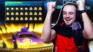 I GAVE A VIEWER ALL MY CRATES IN ROCKET LEAGUE TO TEST THEIR LUCK... [\u0026 HE GOT A DIECI WHEEL]