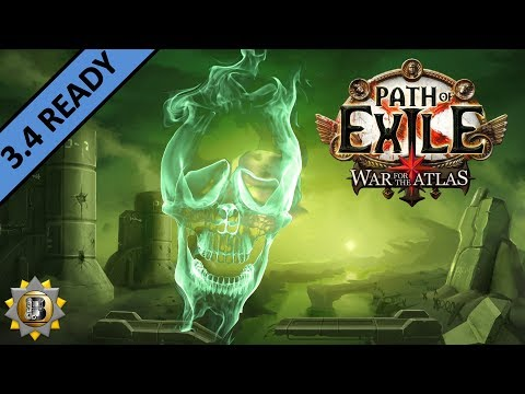 [3.4] Toxic Rain Build - Pathfinder Ranger - Path of Exile War For The Atlas - Delve