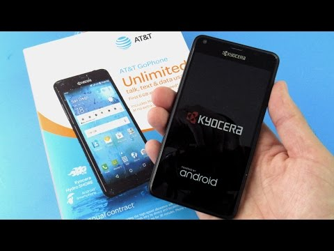 Kyocera Hydro Shore Unboxing