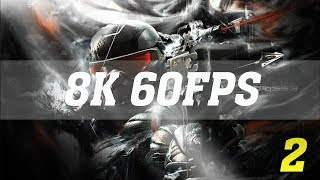 CRYSIS 3 8K PC GAMEPLAY - No. 2 [8K 60FPS] | TRUE 8K | TITAN Xp 4 WAY SLI | ThirtyIR
