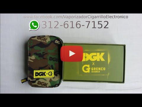 Vaporizador Herbal G Pro Grenco Science DGK Tutorial Español