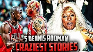The Time Dennis Rodman Wore A Wedding Dress + 4  More Stories You WILL Believe