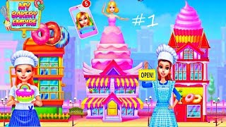 My Bakery Empire - Bake, Decorate & Serve Cakes By TabTale - Second Shop Open - Episode 1