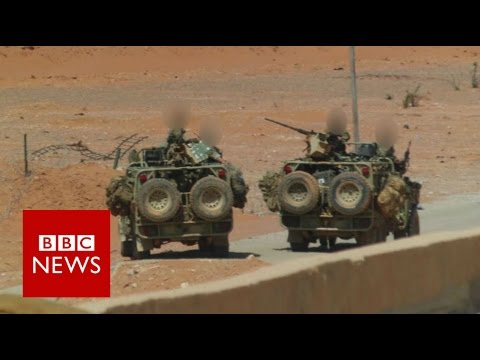 Britain's secretive and lethal force in Syria - BBC News