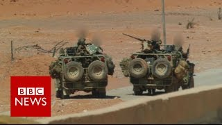 Britain's secretive and lethal force in Syria - BBC News(BBC News has obtained exclusive photographic evidence, showing for the first time British special forces operating inside Syria. They have been working ..., 2016-08-09T09:25:20.000Z)