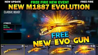 New Upgrade M1887 Gขn Skin//How To Get legendary Cobra Costume//Garena Free Fire//Tgs