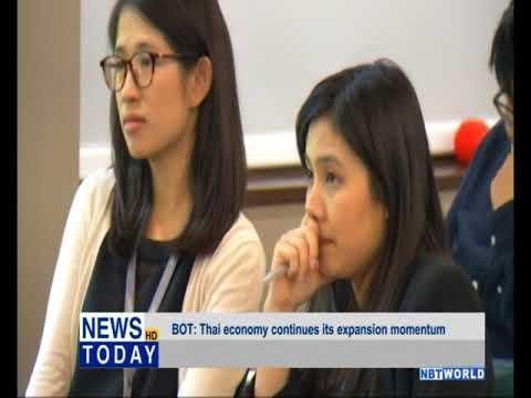 BOT: Thai economy continues its expansion momentum