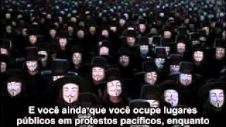 ANONYMOUS 2012- (IMPORTANT MESSAGE )TO THE PEOPLE WE MUST UNITE(LEGENDADO PT-BR)