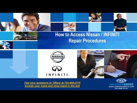 Nissan - INFINITI TechInfo  Part 1 OEM Webinar - Learn To Research, Research To Learn