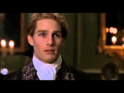 with the Vampire  Lestat's dark joke