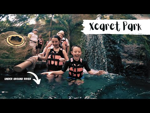 EXPLORING XCARET PARK from the Occidental at Xcaret Resort in Riviera Maya, Mexico