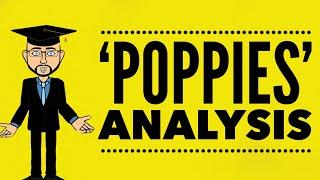'Poppies' by  Jane Weir: Mr Bruff Analysis