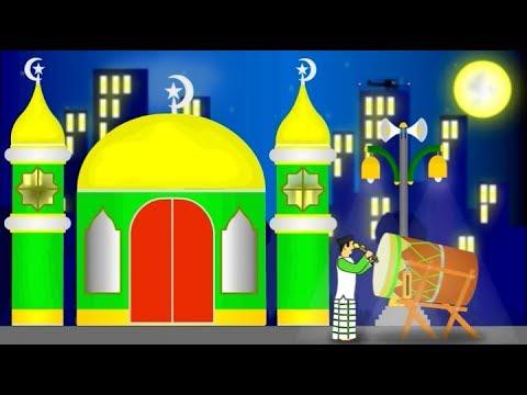 Animasi Ucapan Selamat Hari Raya Idul Fitri Takbir Youtube