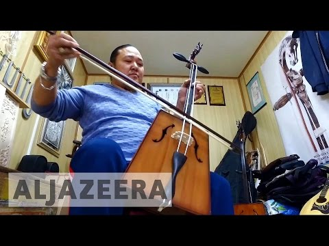 Mongolia's ancient instrument striking a chord