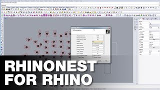 How to use RhinoNest for Rhino