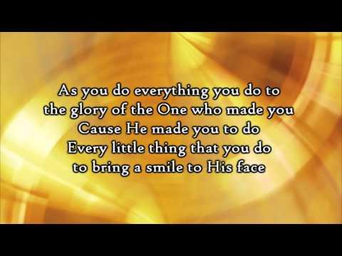 Steven Curtis Chapman - Do Everything (Lyrics)