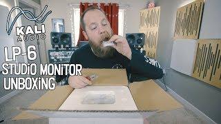 Kali Audio LP-6 Studio Monitors - Unboxing