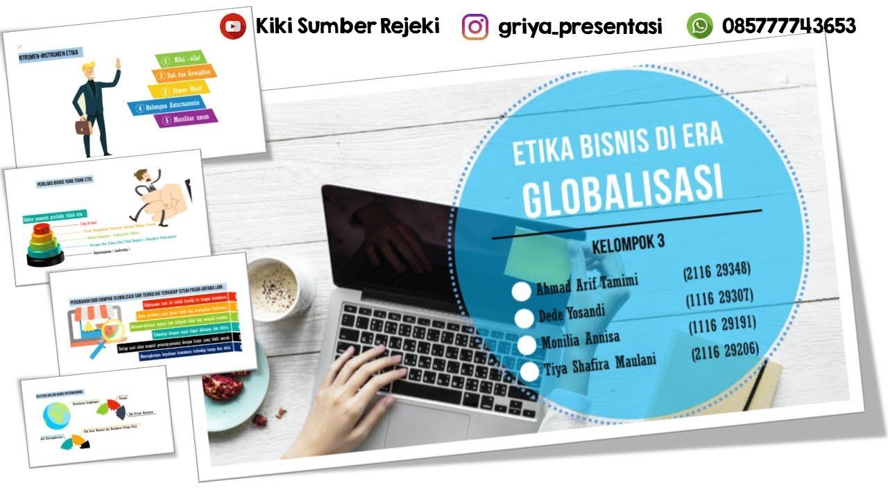 Contoh Presentasi Powerpoint Menarik Etika Bisnis Di Era