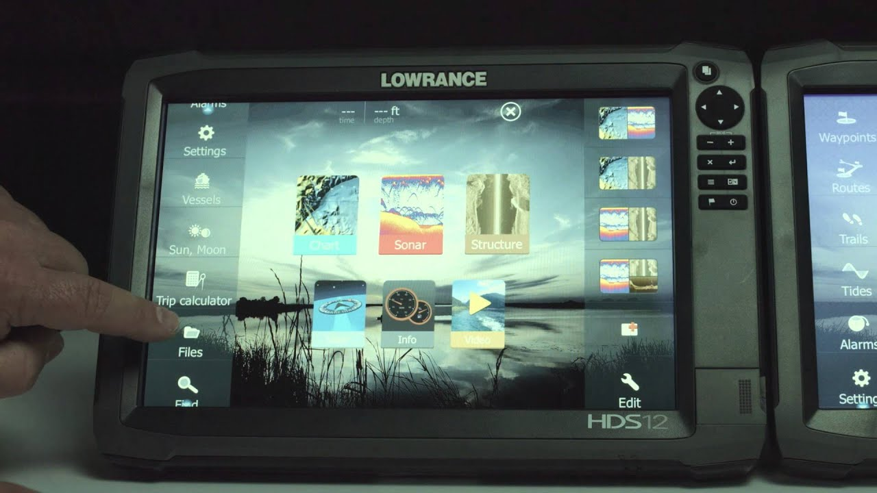 how to upgrade your lowrance hds gen3 software using a wifi connection [ 1920 x 1080 Pixel ]