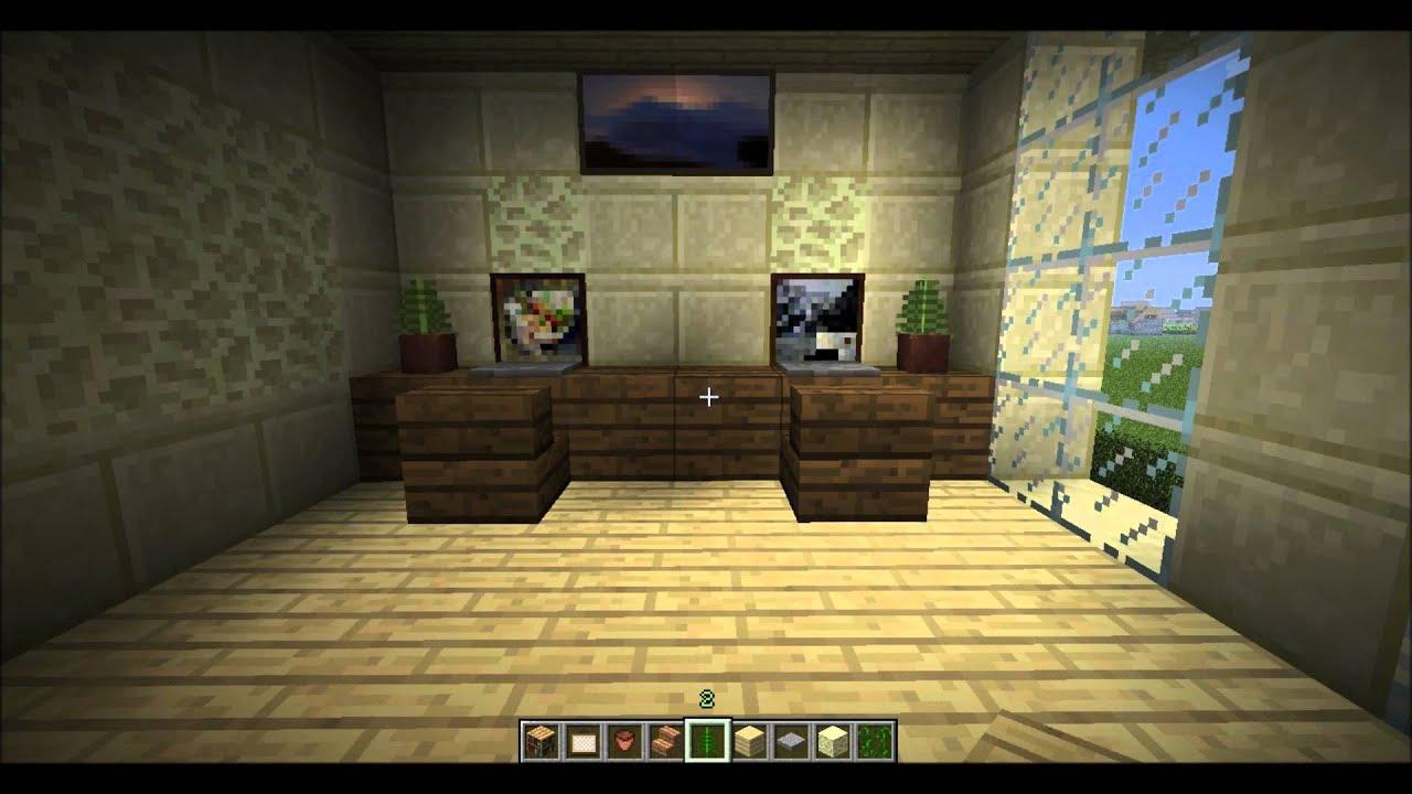 Brasiquinha Minecraft E04  Mais decoracao de interiores!  YouTube -> Decoracao De Banheiro No Minecraft