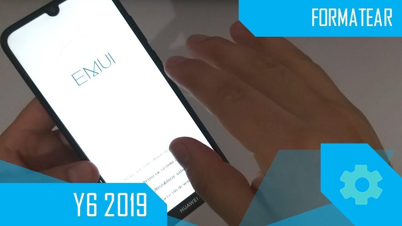 Formatear Huawei Y6 2019 MyTub.uz