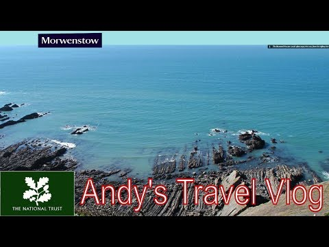 Andy's National Trust Travel Blogs: Morwenstow, drift wood cabin, Cornwall