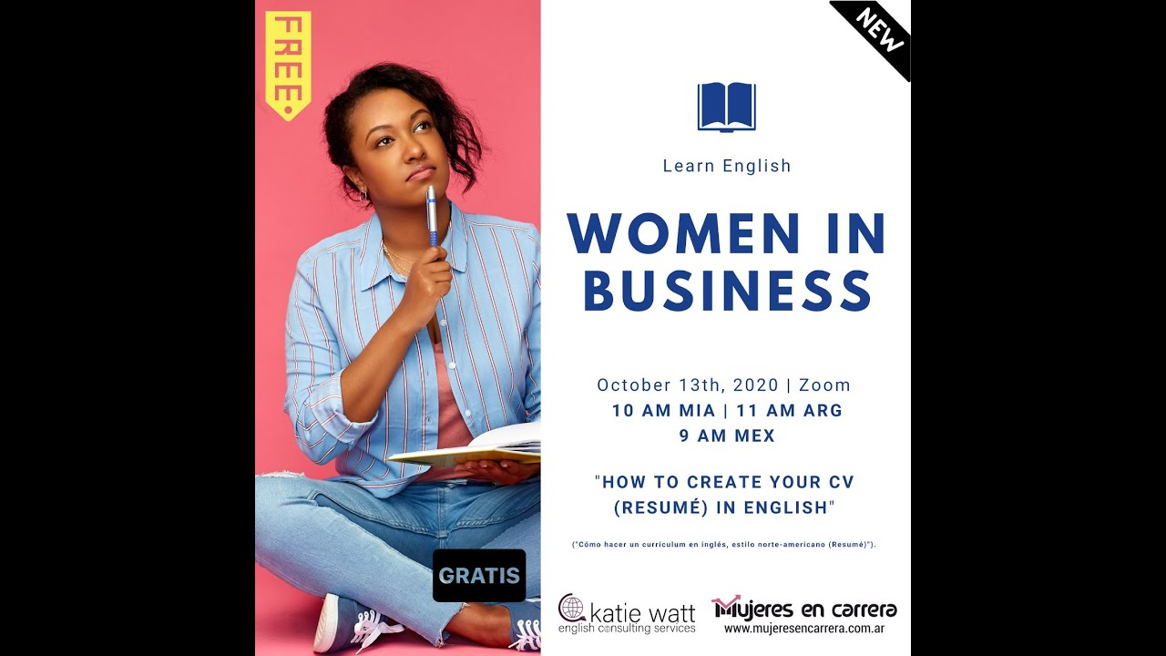 Women in Business: How to Create your own Resumé (USA Style)