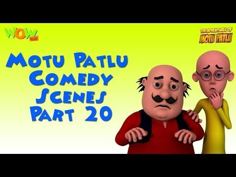 Motu Patlu Comedy Compilation - Part 20 - Motu Patlu Compilation As seen on Nickelodeon thumbnail