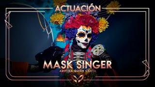 La Catrina canta 'La Llorona' | Mask Singer: Adivina quién canta
