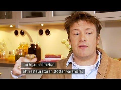 Jamie Oliver berättar om maten, dyslexin och gubbröran - Nyhetsmorgon (TV4)