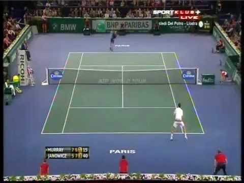 Andy Murray vs. Jerzy Janowicz - ATP Masters Paris 2012 - Highlights