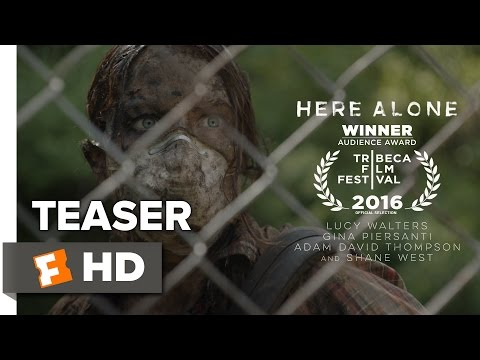Here Alone Official Teaser Trailer 1 (2016) - Shane West Horror Movie HD