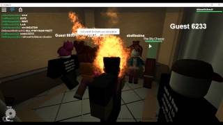 My head's on fire!! - The Normal Elevator - Roblox let's play #5