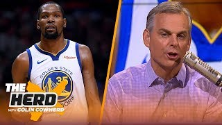 Colin Cowherd: KD's the best player in the NBA, urges 76ers to build around Simmons | NBA | THE HERD
