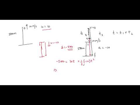 Kinematics 11. 1-Dimension Motion - Vertical Direction - Part F