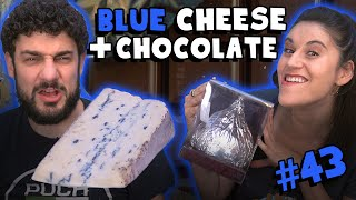 Blue Cheese with a JUMBO Hershey's Kiss! (Cambozola Black Label) - #43