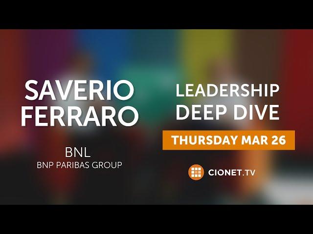 THU 26 MAR   Saverio Ferraro   BNL BNP Paribas