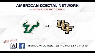 American Digital Network Women s Soccer USF at UCF