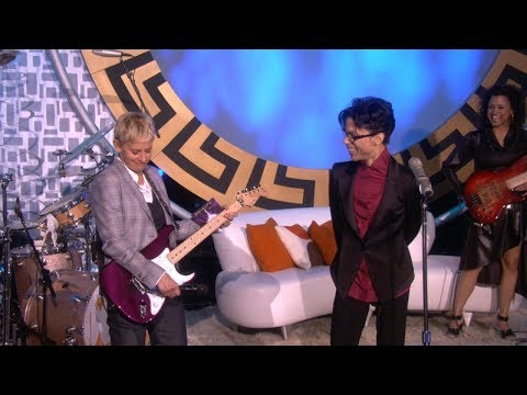 Ellen Puts a Spotlight on Her Favorite Musical Guests