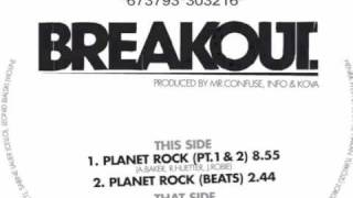 Breakout - Planet Rock (Melting Pot Music) 2006
