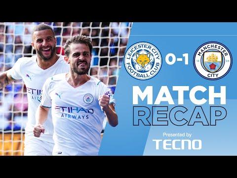 Bernardo Silva seals the points   Match Recap   Leicester 0-1 Man City   Alternative highlights